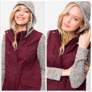 Kala Vella Jackets & Coats - NEW! ❗️LAST TWO❗️ HOODIE JACKET